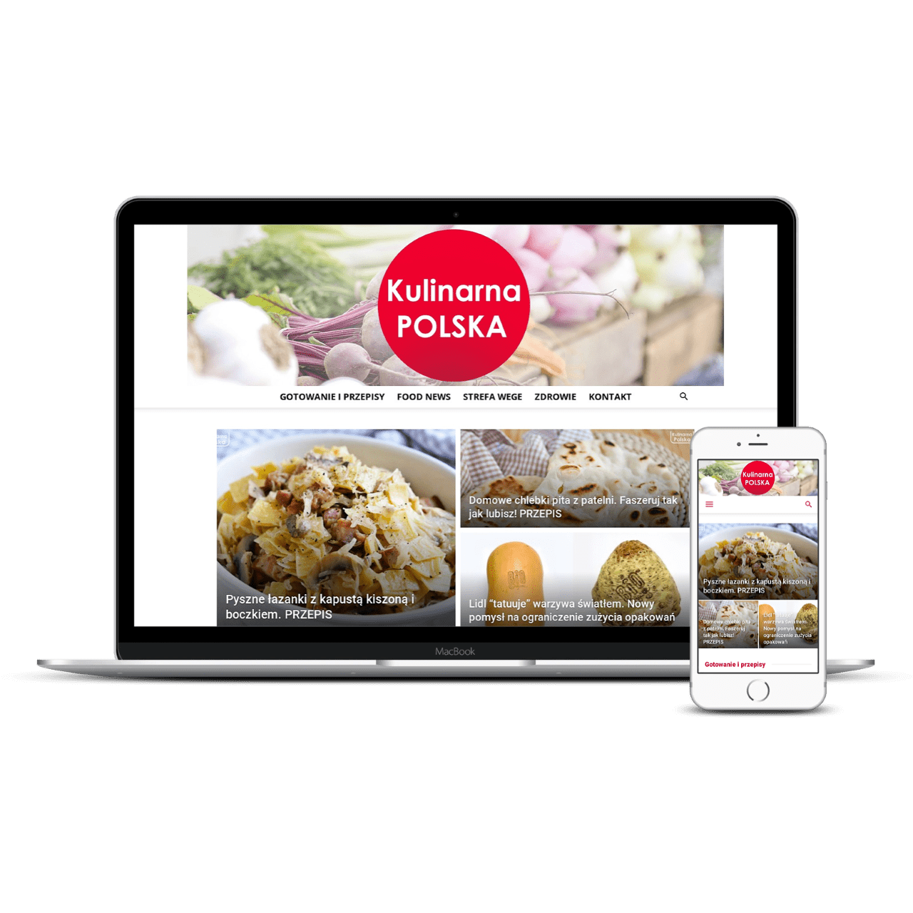 KulinarnaPolska website