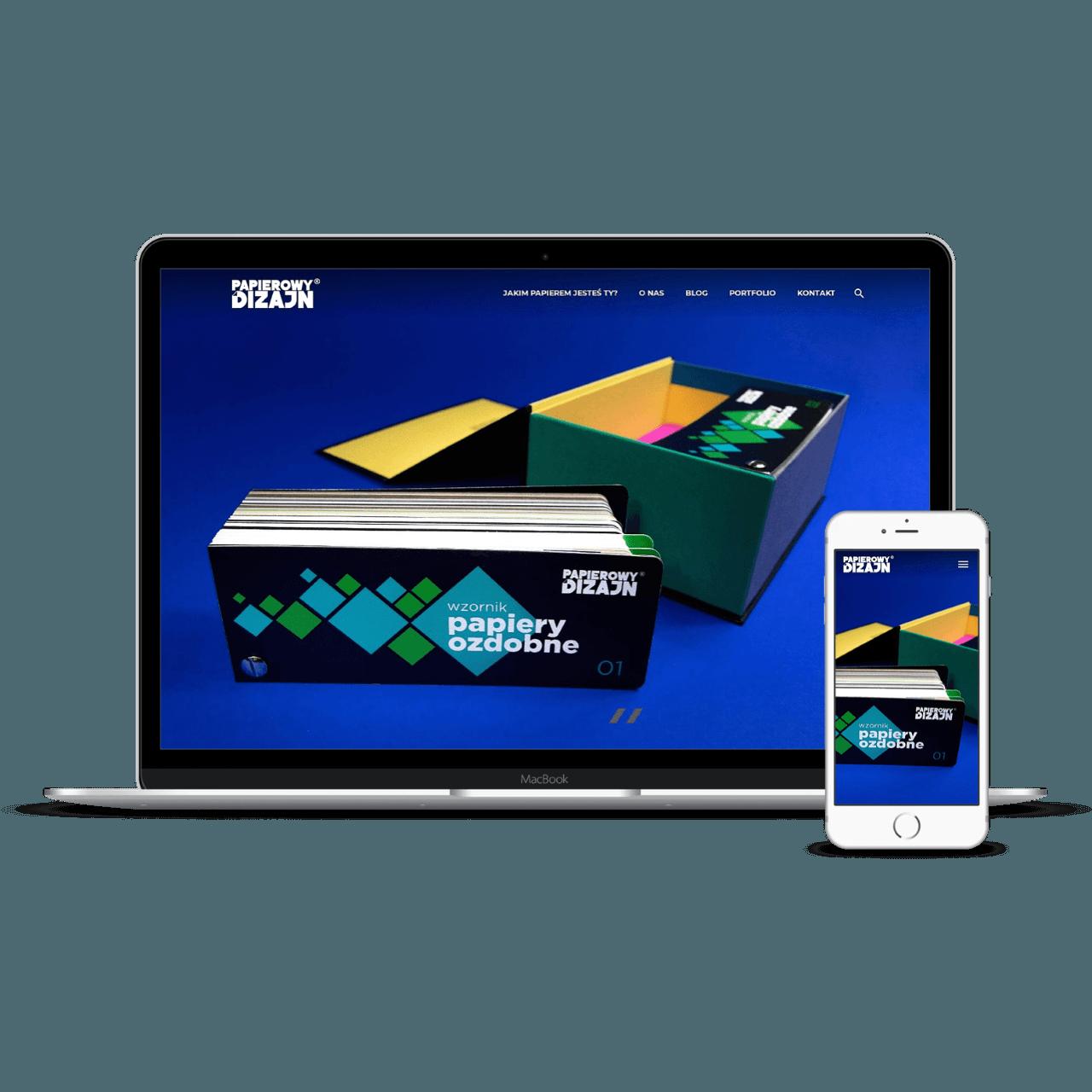 Papierowy Dizajn website