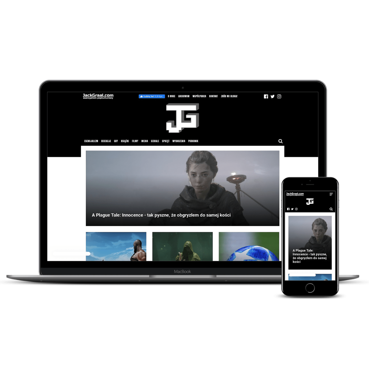 jackgraal.com website