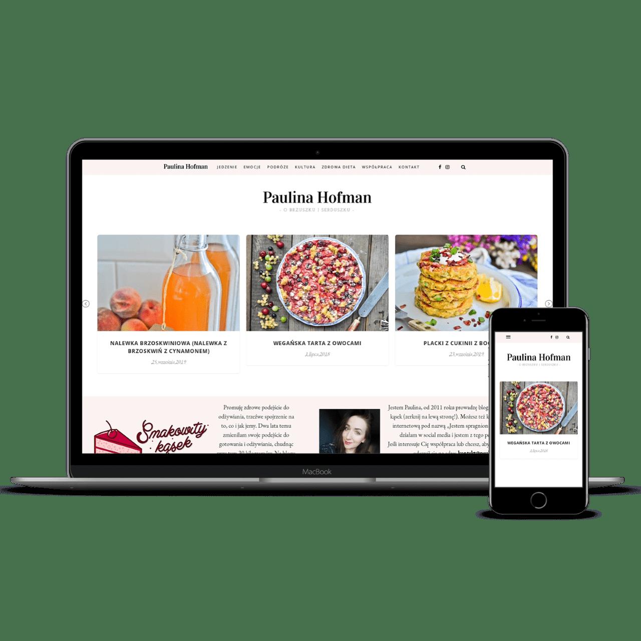 PaulinaHofman website