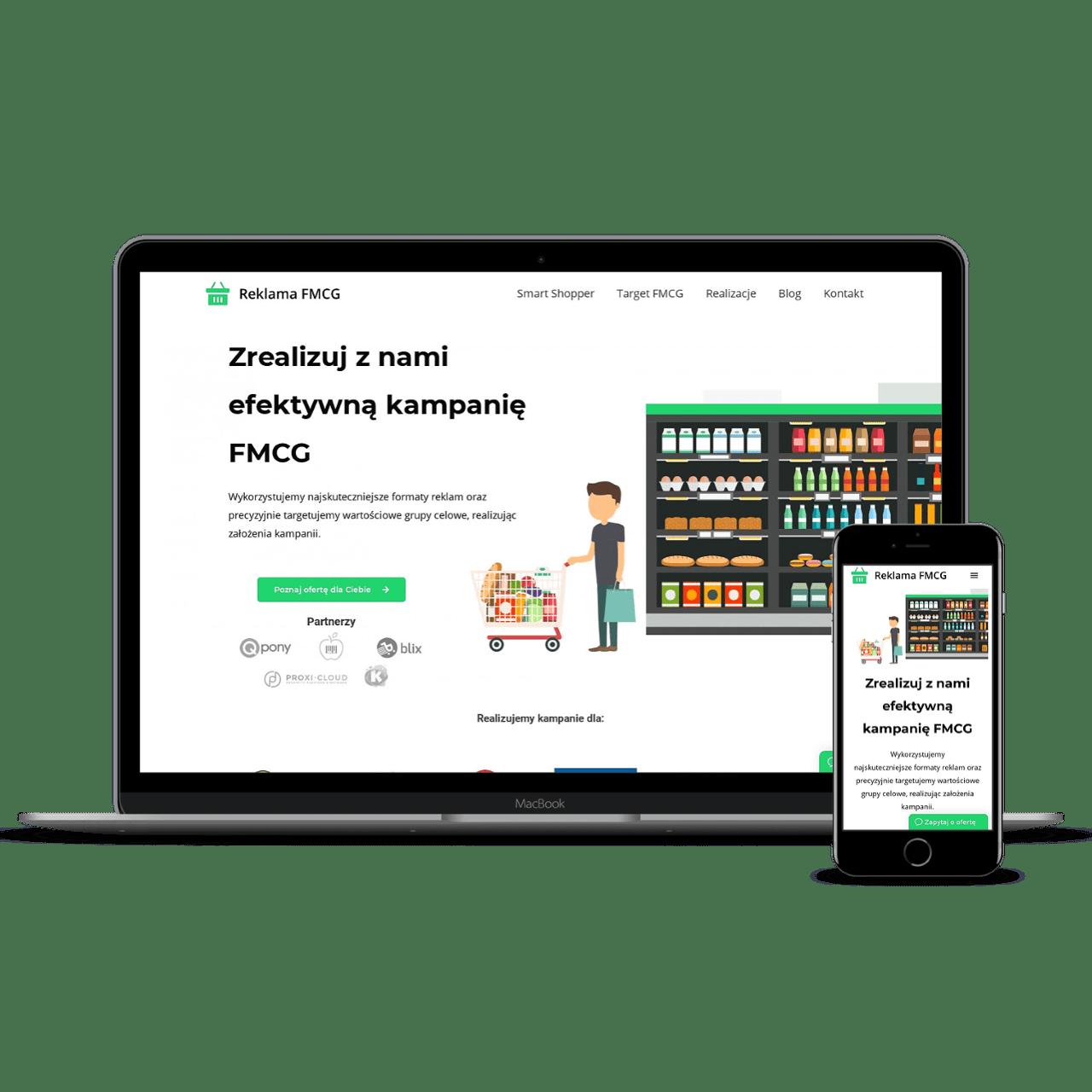 ReklamaFMCG website