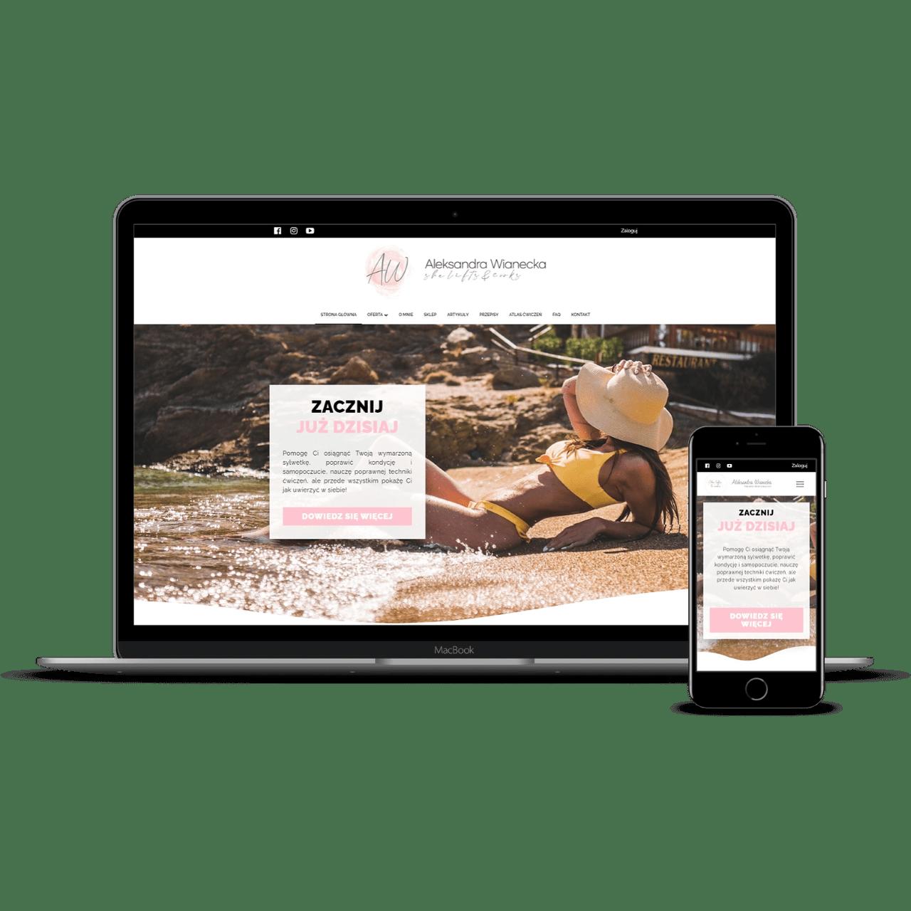 aleksandrawianecka website